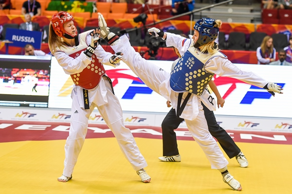 Барышникова World TKD 2015 14.05.2015 Preliminary 51