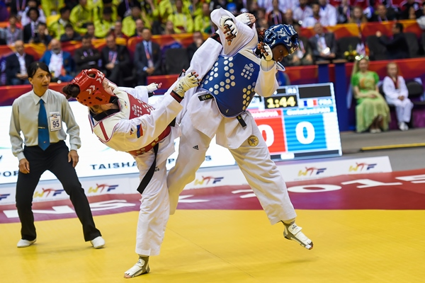 Иванова World TKD 2015 16.05.2015 53F 73F and 54M Semi and Finals 13