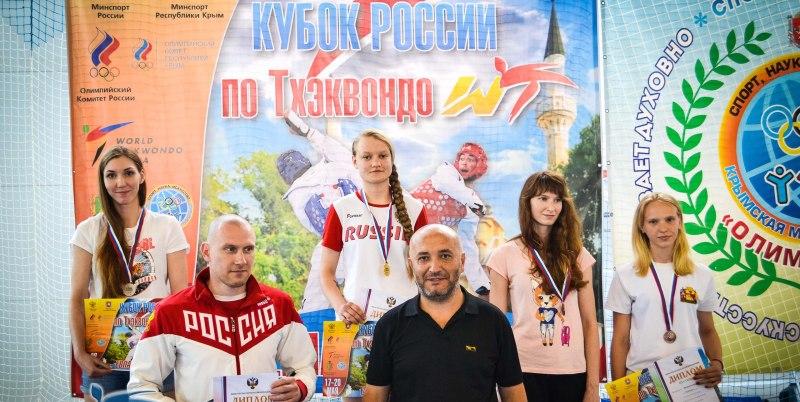 Маргарита Близнякова - обладательница Кубка России по тхэквондо