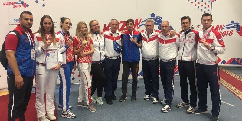 Южноуральские тхэквондисты завоевали рекордное количество медалей на чемпионате Европы в Казани