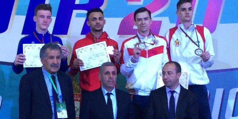 Южноуральский тхэквондист Константин Минин - бронзовый призер международного турнира в Марокко