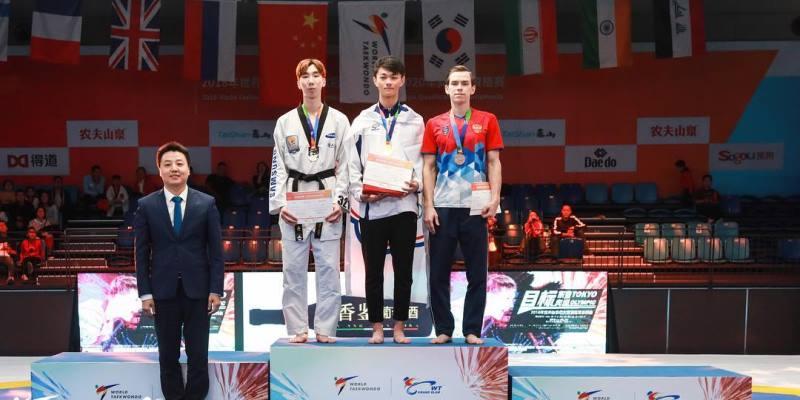 Тхэквондист Константин Минин завоевал бронзу международного турнира и путевку на «Большой шлем»