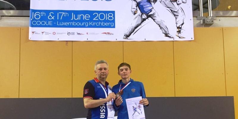 Южноуральские тхэквондисты завоевали два «золота» на Европейском Кубке президента среди детей